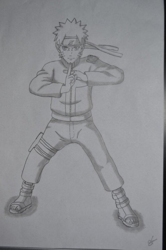 Naruto attaque Multi-clonage