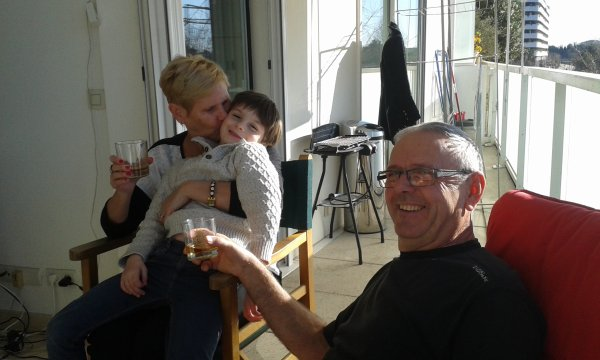 DECEMBRE 2014 - Mtp- apéro sous le soleil avec mamie & papy