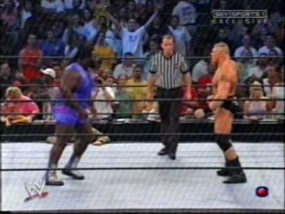 Brock Lesnar face a Mark Henry