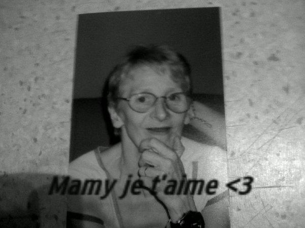 Ma Petite Mamy :( <3!