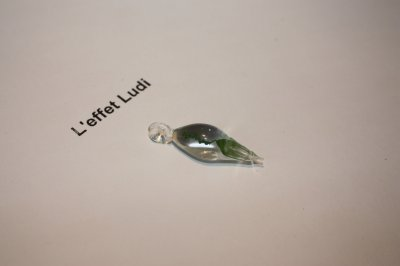 pendantif en verre