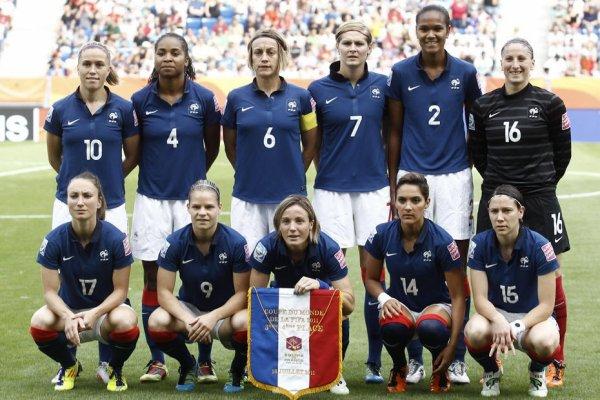 Equipe de France de Football feminin coupe du Monde 2011