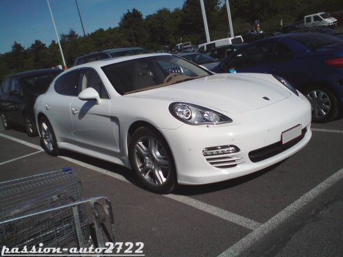 Porsche panamera blanche et int rieur beige blog de for Interieur porsche