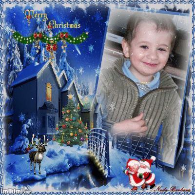 8 ans que nous ne passons plus Noël ensemble ... Je pense à toi petit frère merci à vous pour vos montages bisous.