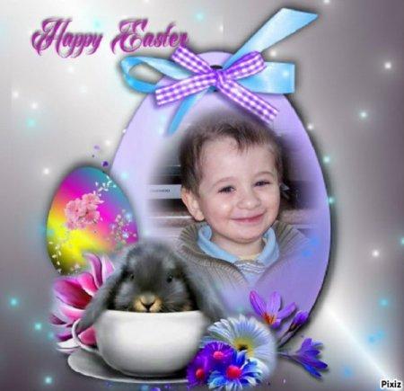 Joyeuses Pâques petit frère dans ton paradis blanc... Ta soeur qui t'aime