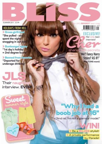 ╚> Swagger Jagger : Cher Lloyd's photoshoot pour le magasine Bliss Juillet