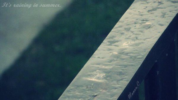 """"""" La pluie tombe comme nous tombons amoureux : en déjouant les prévisions."""" - M.Page"""
