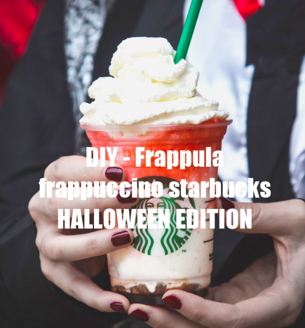 DIY - Frappula frappuccino  HALLOWEEN EDITION