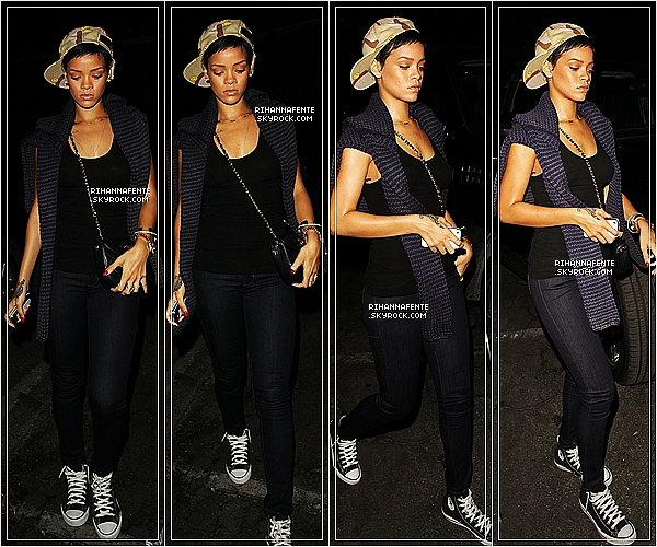 [a=].   16 / 10 / 12 -  Rihanna Fenty allait à un studio d'enregistrement à L.A  [a=].