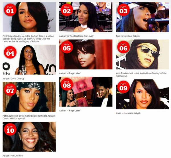 25 days of Aaliyah