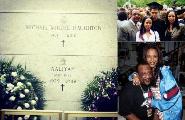 Repose en paix Michael « Miguel » Haughton 1951-2012, père de Aaliyah « Dana » Haughton 1979-2001 repose en paix !