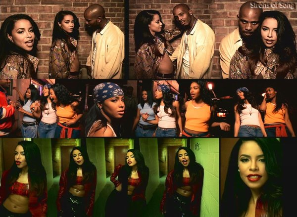 "Aaliyah & DMX  ""Come Back In One Piece"""