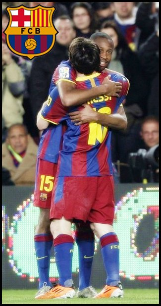 FC Barcelone 1-0 Real Saragosse 5/03/11