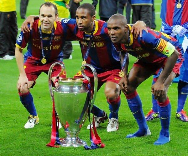 Finale de la Ligue des champions FC Barcelone 3-1 Manchester United 28/6/11