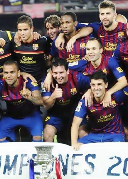 FC Barcelone 3-2 Real Madrid -  Le match retour de la Supercoupe d'Espagne 17/08/11