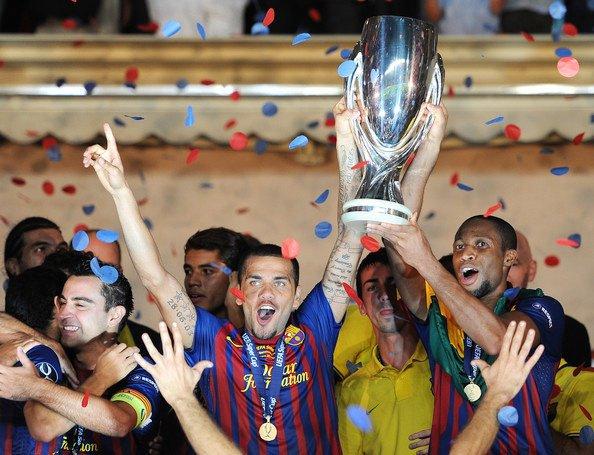 Supercoupe d'Europe: FC Barcelone 2-0 FC Porto 26/08/11