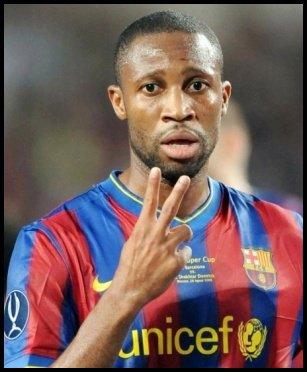 Info,News,Actualité L'international Malien 100%  Seydou Keita (15) LFP  FC Barcelone Camp Nou [ESP]