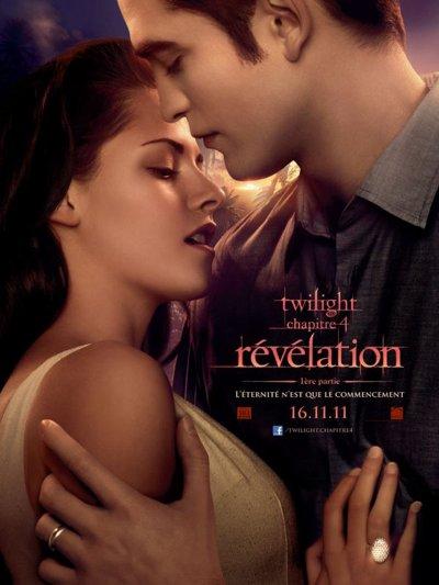 L'affiche de twilight 4