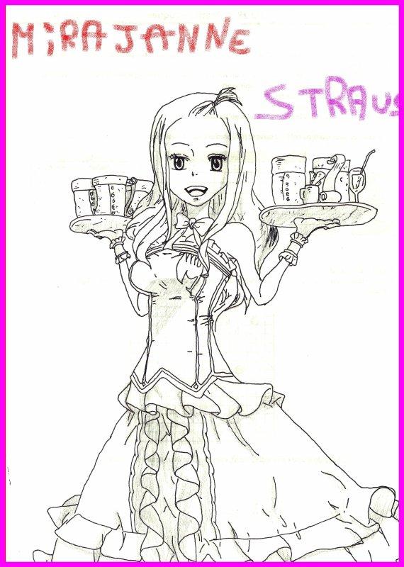 Mirajanne Strauss et Lucy Heartfilia de Fairy tail!