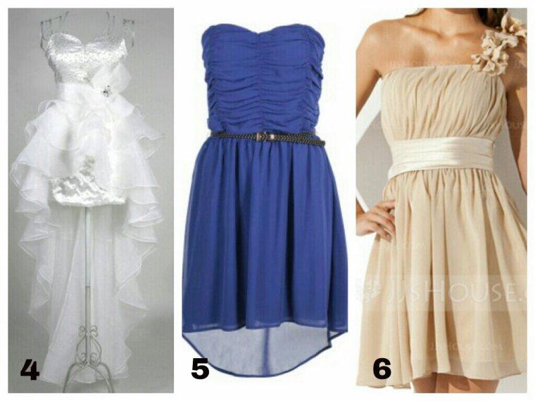 Image de robe de soiree courte swag