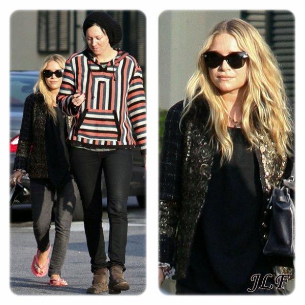 Mary-Kate Olsen le 23 décembre 2010