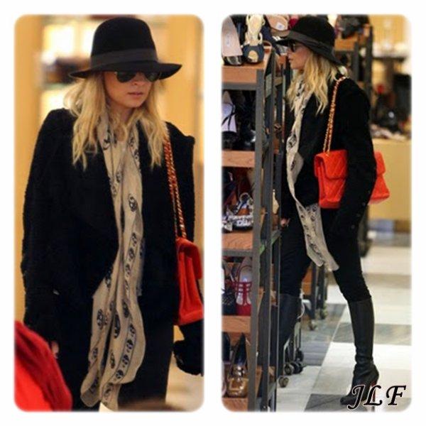 Nicole Richie le 21 décembre 2010