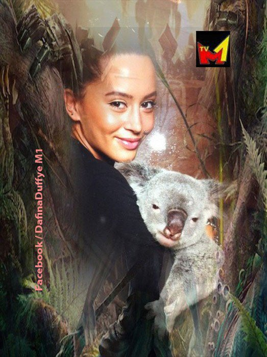 Duffye ne Australi me njeren nga kafshet e preferuara te saj