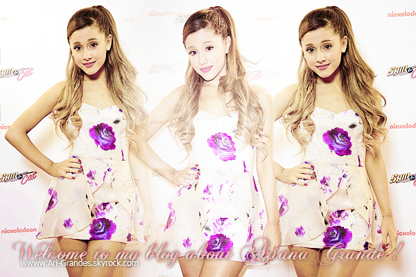 ••www.Ari-Grandes.skyrock.com•• ____________ Ta source d'actualité sur la brillante Ariana Grande !
