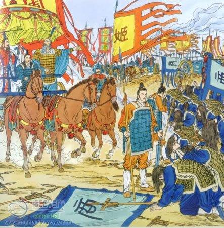 King Wuwang Topples the Shang Dynasty