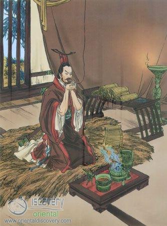King Goujian's Perseverance
