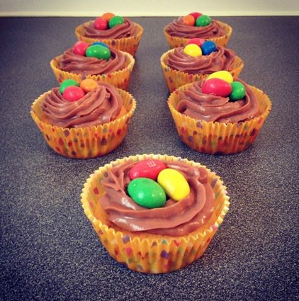 Cupcakes au M&M'S