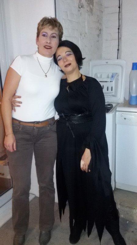 du news : ma petite belle soeur et moi même