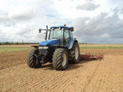 new holland tm 155 et vibro 6 m
