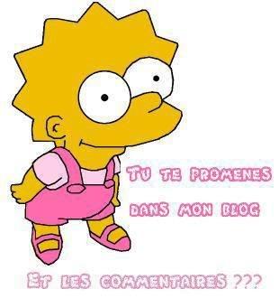 le premier mot de  Lisa Simpson , étant née  était . . .