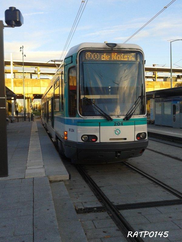 Gennevilliers RER Tram