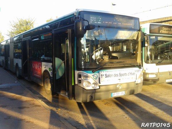 Porte de la Villette Metro Tram ( Partie 1 )