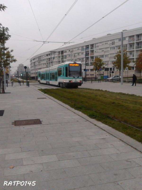 Asnières Gennevilliers les Courtilles Metro Tram ( Partie 2 )