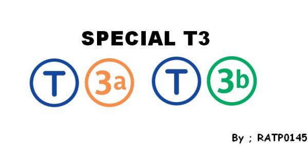 SPECIAL T3 -> Porte de Pantin - Porte de la Chapelle <-