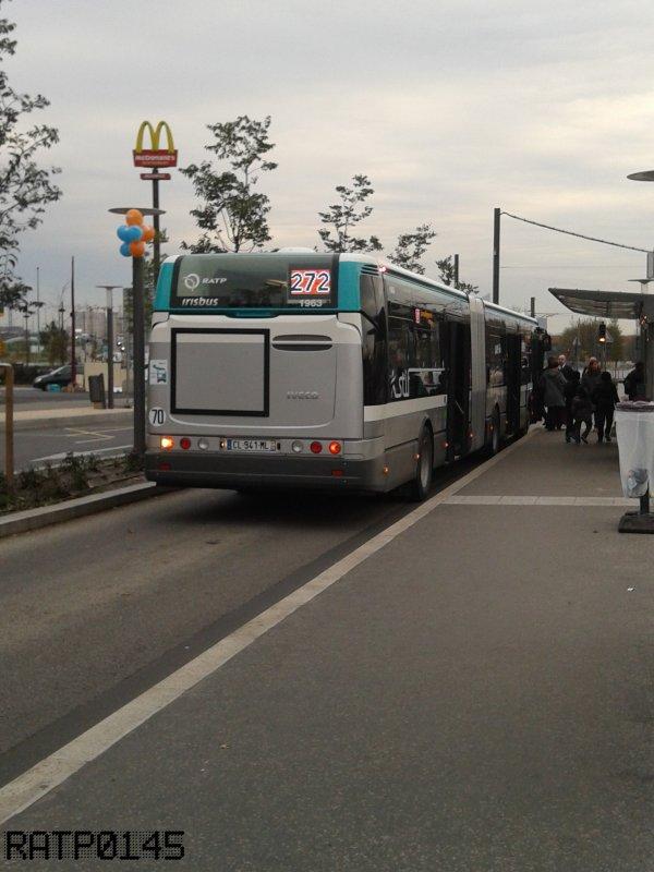 Pont de Bezons Tram ( Partie 2 )