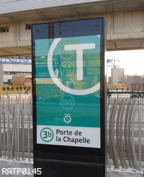 T3b Porte de Villette Métro {Cité des Sciences et de L'industrie} ( Partie 2 )