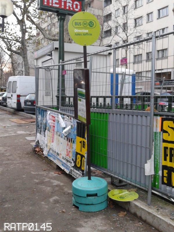 Remplacement du M12 - Porte de la Chapelle Métro ( Partie 2 )