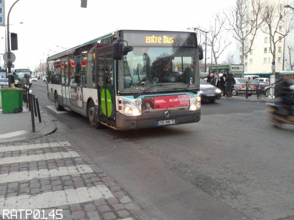 Remplacement du M12 - Porte de la Chapelle Métro ( Partie 3 )