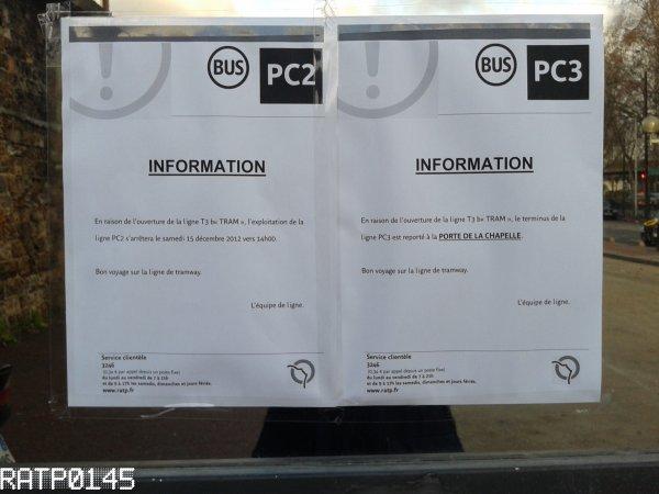 Le 15 décembre = Ouverture du T3b et suppression du PC2 ( Partie 1 )