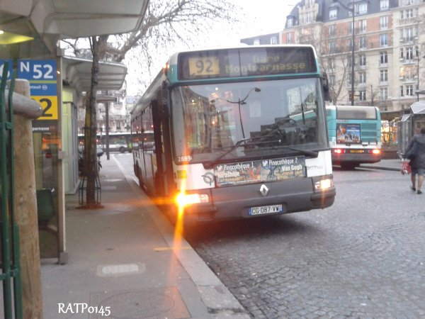 Porte de Champerret Metro ( Partie 2 )