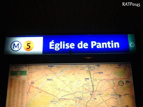 Eglise de Pantin Metro