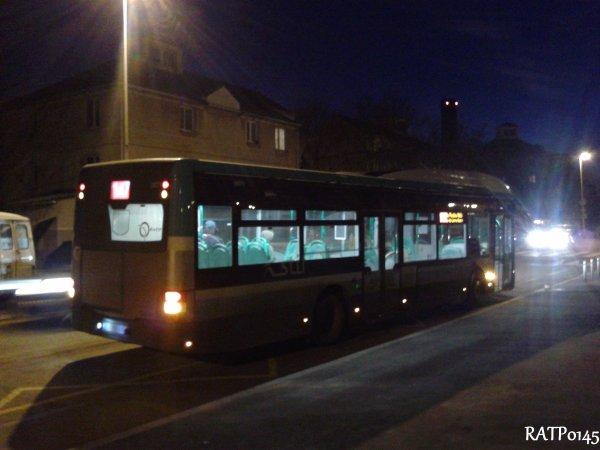 Hybride du 147 en pleine nuit