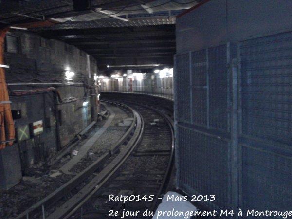Porte d'Orléans Métro & Mairie de Montrouge - 2e jour du prolongement M4 à Montrouge ( Partie 2 )