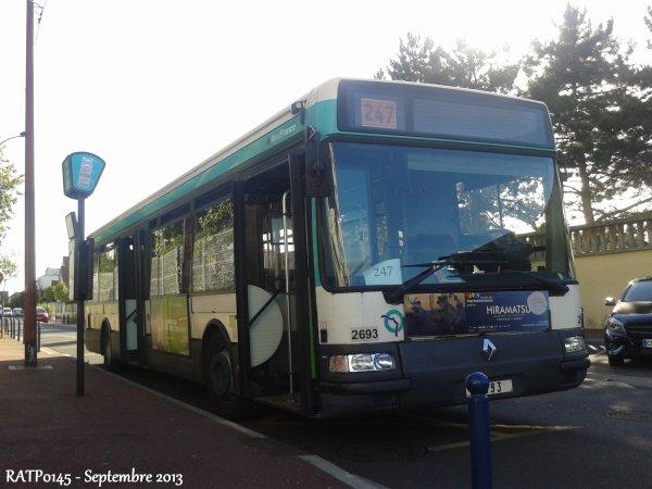 Nouvelle ligne 247 et 368 et 251 à Bobigny Pablo Picasso Métro