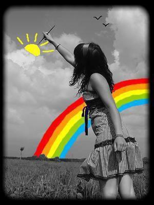 Rêve ta vie en couleur... C'est le secret du bonheur ! ♥