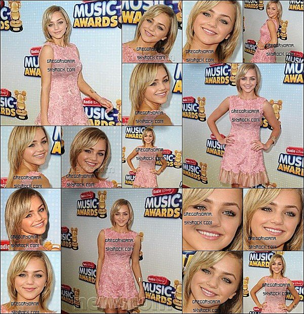 27/04/13 : Oana était présente au MTV music awardElle était magnifique je lui donne un TOP